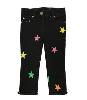 Stella McCartney kids jeans neri