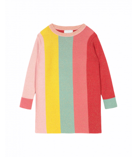 Stella McCartney kids abito lurex