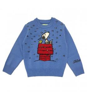 Mc2 Saint Barth maglione azzurro