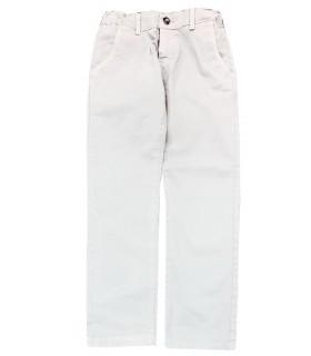 Paolo Pecora Kids pantaloni chino grigio chiaro