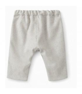 Bonpoint pantaloni a quadrettini