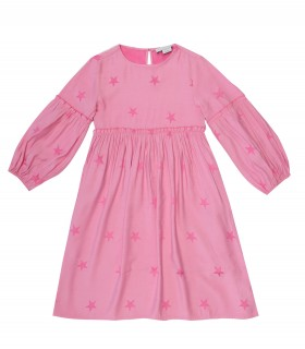 Stella McCartney kids abito rosa