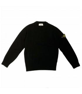 Stone Island junior maglione nero
