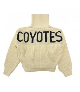 Les Coyotes de Paris maglia crema