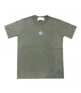 Stone Island junior T-shirt verde