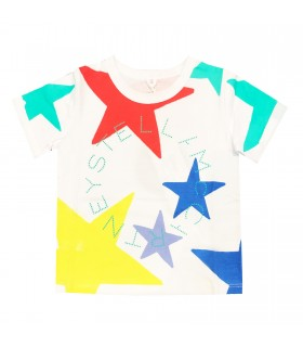 Stella McCartney kids t-shirt bianca