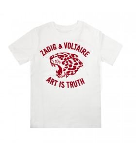 Zadig et Voltaire t-shirt bianca