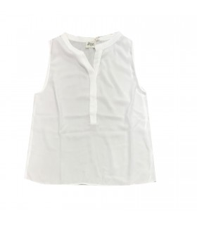 Hartford top viscosa bianco