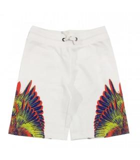 Bermuda bianco ali multicolor di Marcelo Burlon