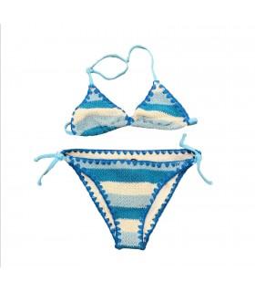 Bikini turchese crochet di Mc2 Saint Barth