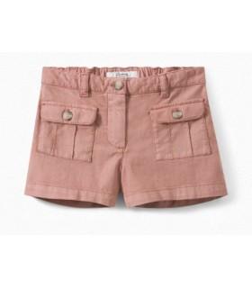 Shorts rosa cipria di Bonpoint