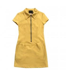 Abito giallo di Marinella Galloni Fashion Designer