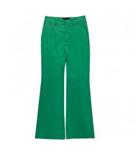 Pantalone verde di Marinella Galloni Fashion Designer