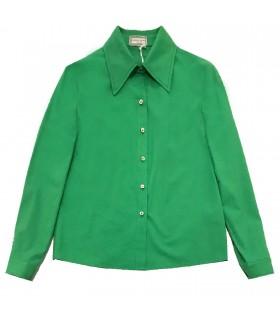 Camicia verde di Marinella Galloni Fashion Designer