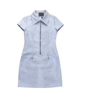 Abito azzurro di Marinella Galloni Fashion Designer