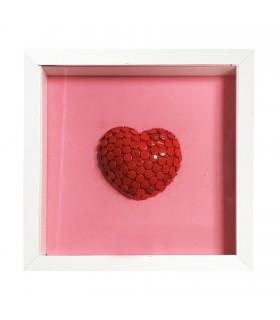 """ Red Pink Heart  "" di Alessandra Pierelli"
