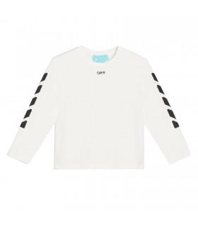 """T-shirt """" Off """" e """" Frecce"""" Nere Di Off White"""