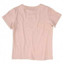 STELLA MCCARTNEY KIDS T-SHIRT ROSA CON GATTO