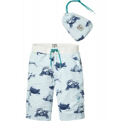 SCOTCH SHRUNK BOXER DA MARE AZZURRI