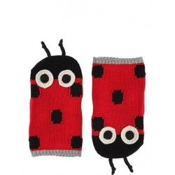STELLA MCCARTNEY KIDS SET SCIARPA E GUANTI COCCINELLE