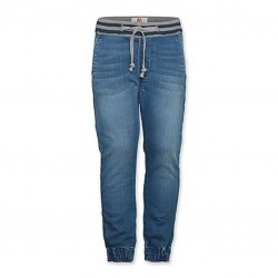 AO76 PANTALONI JOGGER IN DENIM