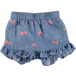 STELLA MCCARTNEY KIDS COULOTTE CILIEGIE