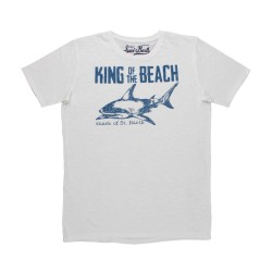 "MC2 SAINT BARTH T-SHIRT ""KING OF THE BEACH"""