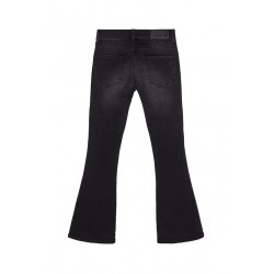LITTLE REMIX JEANS  NERI A TROMBETTA