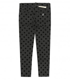 STELLA MCCARTNEY KIDS JEANS POIS NERI