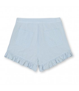 STELLA MCCARTNEY KIDS SHORTS AZZURRI