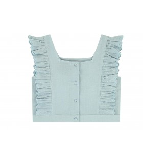 STELLA MCCARTNEY KIDS TOP AZZURRO